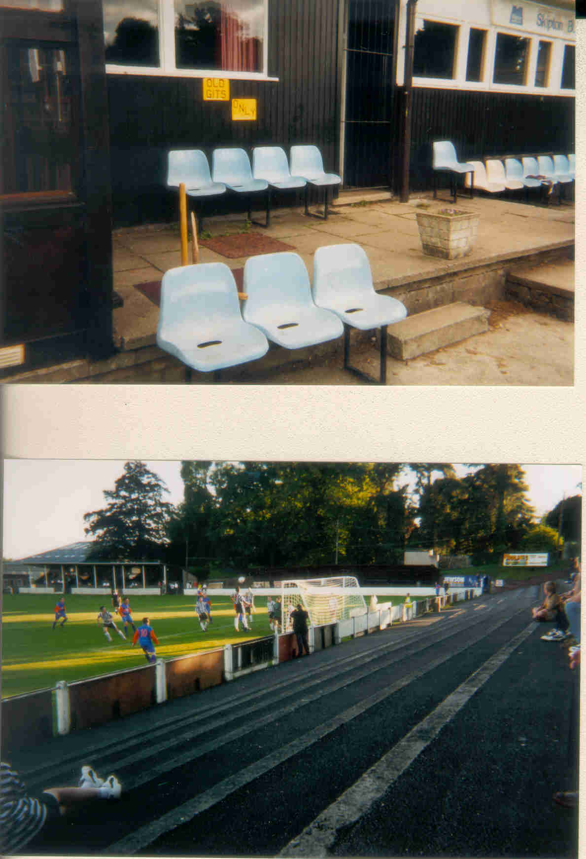Netherfield CC and Kendal Town FC
